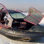 Аэролодка с открытым багажником