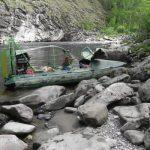 Аэролодка для сплавов и рыбалки