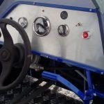 Руль и панель управления аэролодкой Нерпа